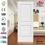 HDF/MDF machen Primer-bündige weiße Tür-Haut glatt