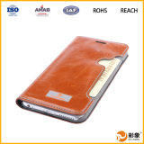 Alta qualidade Leather Mobile Phone Caso para o iPhone