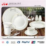 vaisselle carrée de porcelaine de la forme 47PCS