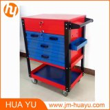 550 Pounds Machine Schwer-Aufgabe Rolling Tool Chest mit 5 Drawers in Red und in Blue