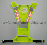 Segurança clara do diodo emissor de luz do projeto novo que funciona a veste reflexiva