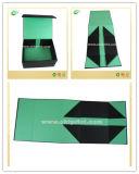 Rectángulo de papel plegable impreso del negro plano del envío para la venta (CKT-CB-703)