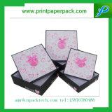 Boîte en carton cosmétique de beau vêtement