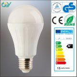 新しいHigh Lumen A65 E27 11W 12W 15W LED Bulb
