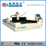 Machine de découpage de laser de fibre de haute précision pour l'application en métal