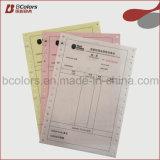 NCR Papier Informatique formulaire vierge ou impression papier NCR Formulaire