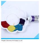 12*12ml de niet Giftige Verf van de Kleur van de Gouache in de Buis van het Aluminium voor Tekening
