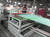 Linha de produção plástica composta das telhas de telhado do Asa