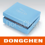 Boîte de papier cosmétique de logo fait sur commande polychrome d'impression