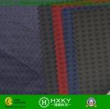 方法ジャケットのための格子縞のドビーが付いているWeftスパンデックスポリエステルファブリック