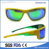 Zonnebril van de Veiligheid van de Sporten van de Manier van de Stijl van het Merk van de douane de Italiaanse Kleurrijke