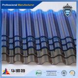 Strato trasparente di Currugated del PC del materiale da costruzione di alta qualità per tetto