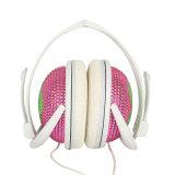 Les battements en soie de lecteur MP3 d'impression ont personnalisé l'écouteur de musique de logo