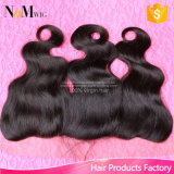 13X4 Inches Cheap Brazilian Free Parting Full Lace Frontal Closure Hair Accessories