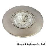 食器棚のキャビネットのための円形アルミニウムDimmable 4Wの穂軸LEDの台所ライトはまたはフードを鳴らした