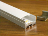 профиль алюминия СИД 15mm высокий с теплоотводом на свет прокладки 15*23.5mm СИД