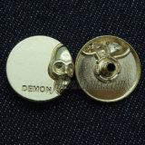 Кнопки щелчковой крепежной детали металла для одежды