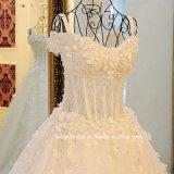 Отбортовывающ шток 3D мантии венчания цветет Bridal платье венчания E17913