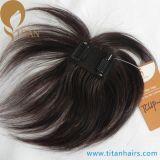新製品の毛の部分のインドの人間の毛髪クリップ