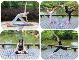 De Matten van de Yoga van de premie, de Afgedrukte Mat van de Oefening van het Ontwerp met het Dragen van Riem