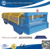 機械を形作るセリウムによって承認されるPrepainted電流を通された波形の金属の屋根のパネルのタイルロール