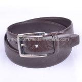 Courroies en cuir gravées en relief par ceinture neuves d'unité centrale de logo d'homme d'usine modèle