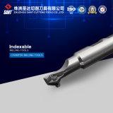 Máquina ferramenta de trituração do tungstênio Indexable do cortador de trituração Cma01 do CNC