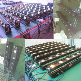 8X10W 단계 변경 색깔 LED 광속 이동하는 헤드