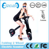 Folding elegante Two Wheel Electric Bike para Adult (E Scooter)