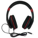 Los receptores de cabeza al por mayor de la manera ataron con alambre el auricular estéreo para el jugador MP3
