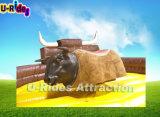 2010 Toro mecánico con Soft Head & flash Ojos, Espacio Bull