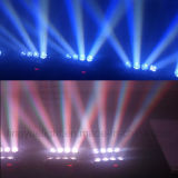 8X10W RGBW 4in1 LED Dicso DJはくもの移動ヘッドライトを発する