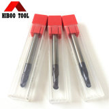 Hardness elevado Ball Nose Carbide Cutting Tool para Metal