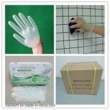 Guante punteado Vinyl/PVC disponible barato de la examinación