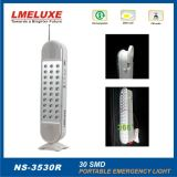Luz Emergency recargable de SMD LED con la radio