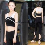 La forma fisica delle donne dell'Rapido-Essiccamento di alta qualità copre i vestiti di nylon di sport
