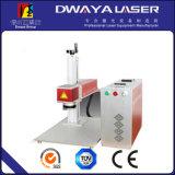 金属のAcrylic Label 10W FiberレーザーMarking Machine