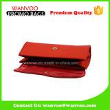 女性OEMデザイン中国のための2016の赤PUの文房具の袋の装飾的な袋Costomize