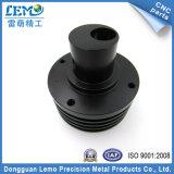 精密黒いPOM CNCの回転部品(LM-0528N)