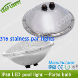 20W, 25W, 30W, 35W Stainless PAR56 Pool Light, Pool Light, Swimming Pool Light 의 세륨, RoHS Listed