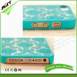 da flor retro da corte do caso do iPhone caso da pilha plástica/telefone móvel (RJT-0141)