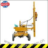 Instalación de la máquina hidráulica de la viruta de la barandilla de la carretera para la venta
