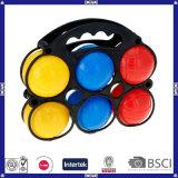 中国のおもちゃの品質の低価格の熱い販売のプラスチックBocce球