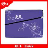 (CL3018)方法紫色の内部袋の絹の印刷のラップトップの袖