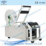 Máquina de etiquetado redonda Semi-Auto de la botella de agua