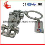 Trousseau de clés en cuir fait sur commande en métal de vente de mode neuve chaude de modèle avec le cadre