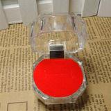 Акриловые коробки подарка случая коробки ювелирных изделий коробки кольца кристально чистый