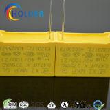 Condensador metalizado de la película del polipropileno (X2 0.47UF/275V E4)