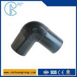 Tubulação do HDPE encaixe de cotovelo de 90 graus