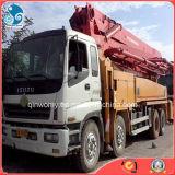 10tyres/6cylinders Used Isuzu 6X4 Truck Putzmeister Mounted Concrete Pump